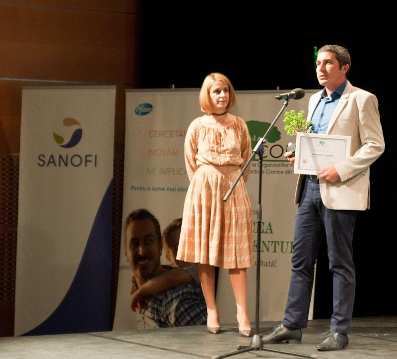 """Programul Aderrio a câștigat premiul publicului la categoria """"Inovație în sprijinul pacienților"""" decernat la Gala COPAC"""
